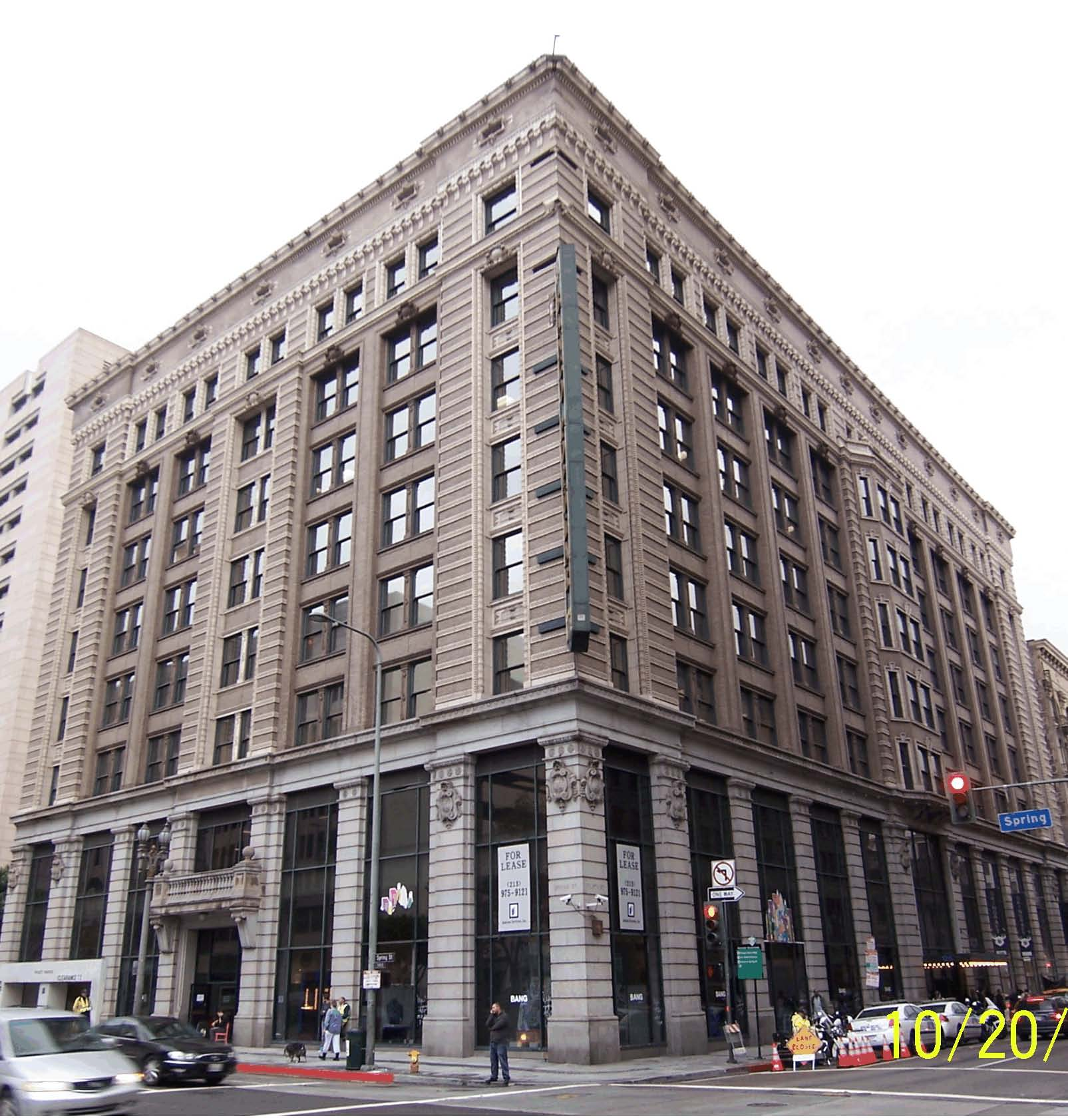The Hellman Building At 125 W 4th Street In Los Angeles Part 93