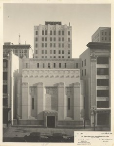 The Old Stock Exchange in Los Angeles